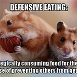 defensive eating