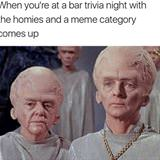 when meme trivia comes up