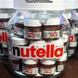 here we have a pregnant nutella