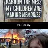 parenting expectation vs reality