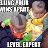 telling your twins apart