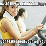 a new 30 day workout challenge
