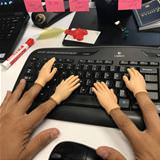 extra typing fingers