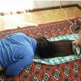 ironing my hair