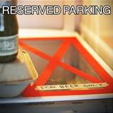 this is reserved parking