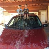 cleaning moms car