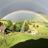 cool double rainbow