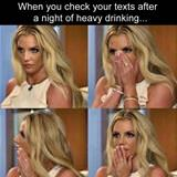 checking your texts