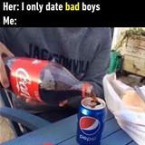 i only date bad boys
