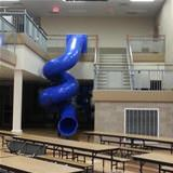 this school has an awesome slide