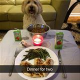we have dinner for two