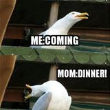coming to dinner