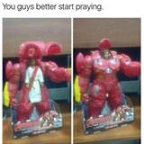 you better start praying