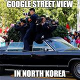 street view in north korea