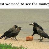 let us see the money