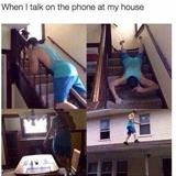 when i talk on the phone
