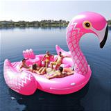 cool giant flamingo