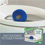 say goodbye to toilet paper
