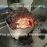 how bad at cooking do you have to be