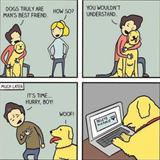 dogs are a mans best friend