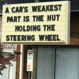 a cars weakest point