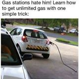 gas stations hate him