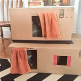 my awesome cat house