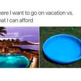 where i want to go on vacation