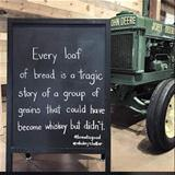every loaf of bread