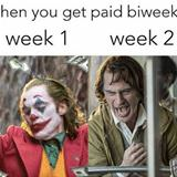 getting paid bi weekly