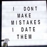my mistakes