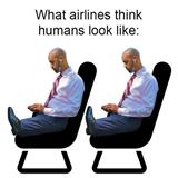 what airlines think we look like