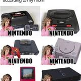 consoles according to mom