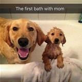 First Bath With My Mom