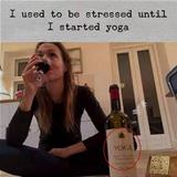 started to do yoga