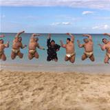 Fat Guys Jumping