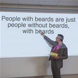 people with beards