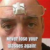 never lose your glasses