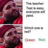 The Test Is Easy