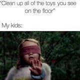 Clean Up The Toys
