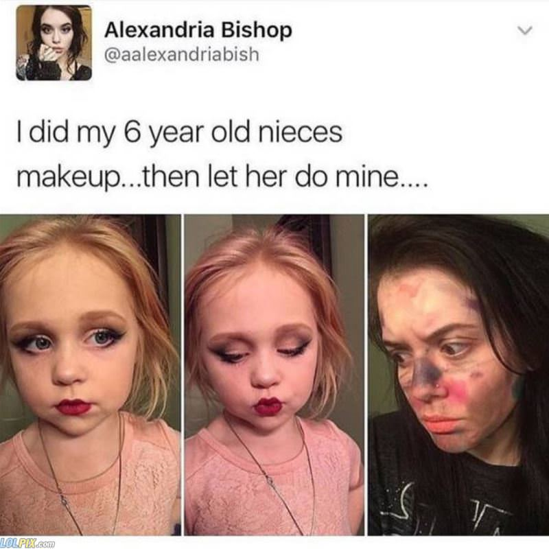 did each others makeup