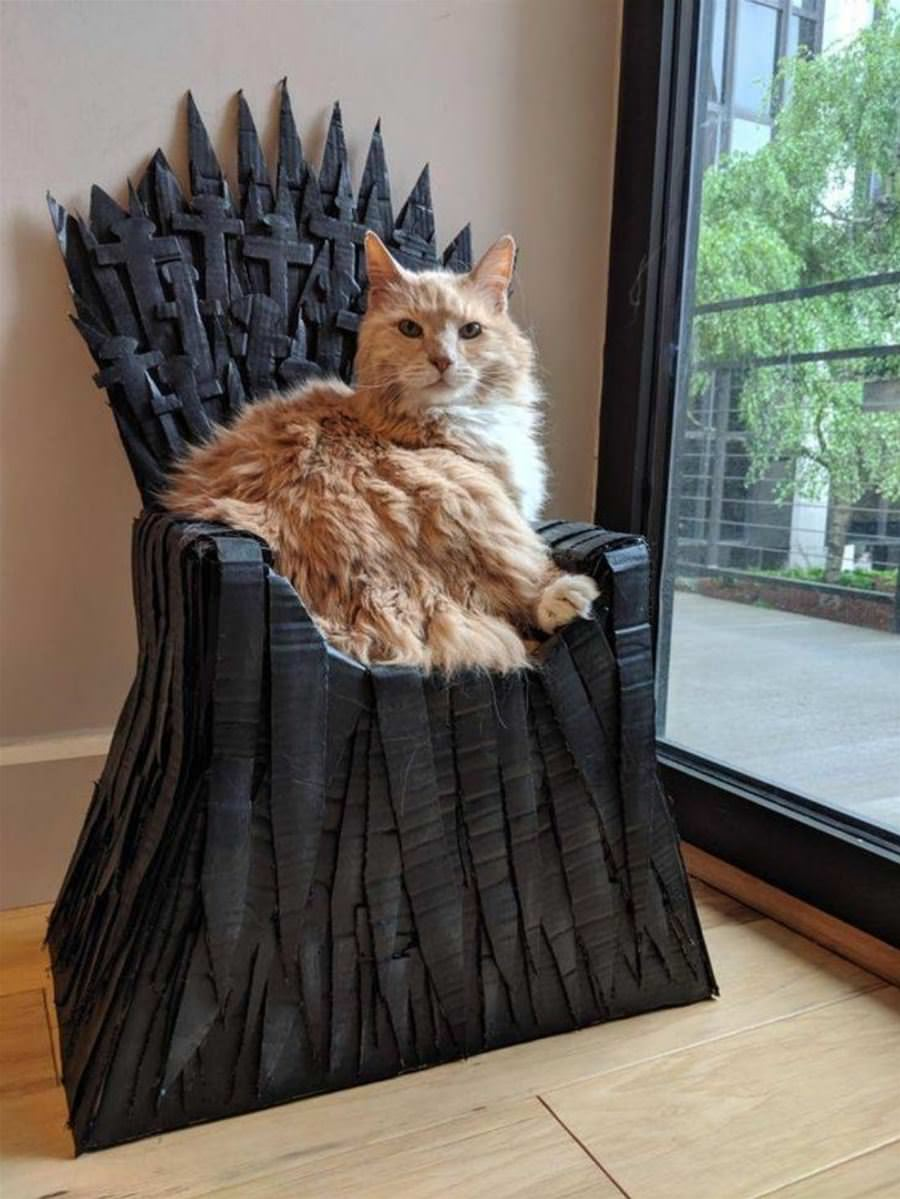 my throne