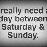 i really need a day