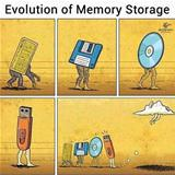 evolution of storage