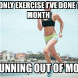the only exercise