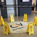 summon a janitor