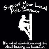 support your pole dancer