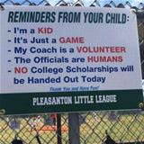 reminders for parents