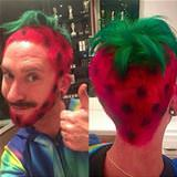 strawberry hair