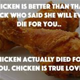 chicken is better